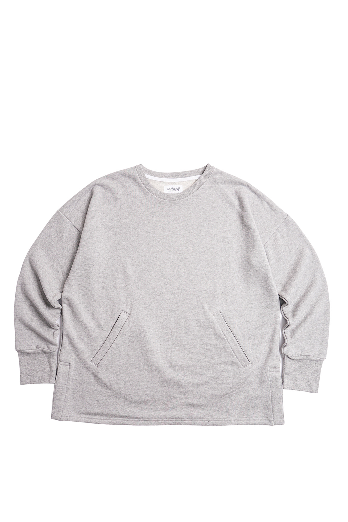 GREY SET IN RAGLAN SWEAT SHIRTS