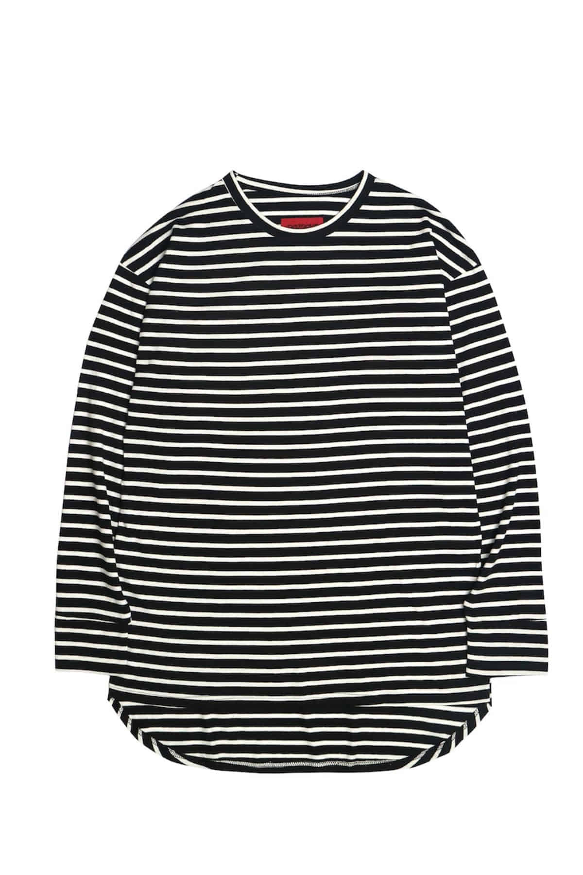 BLACK STRIPE IMBALANCE LONG SLV