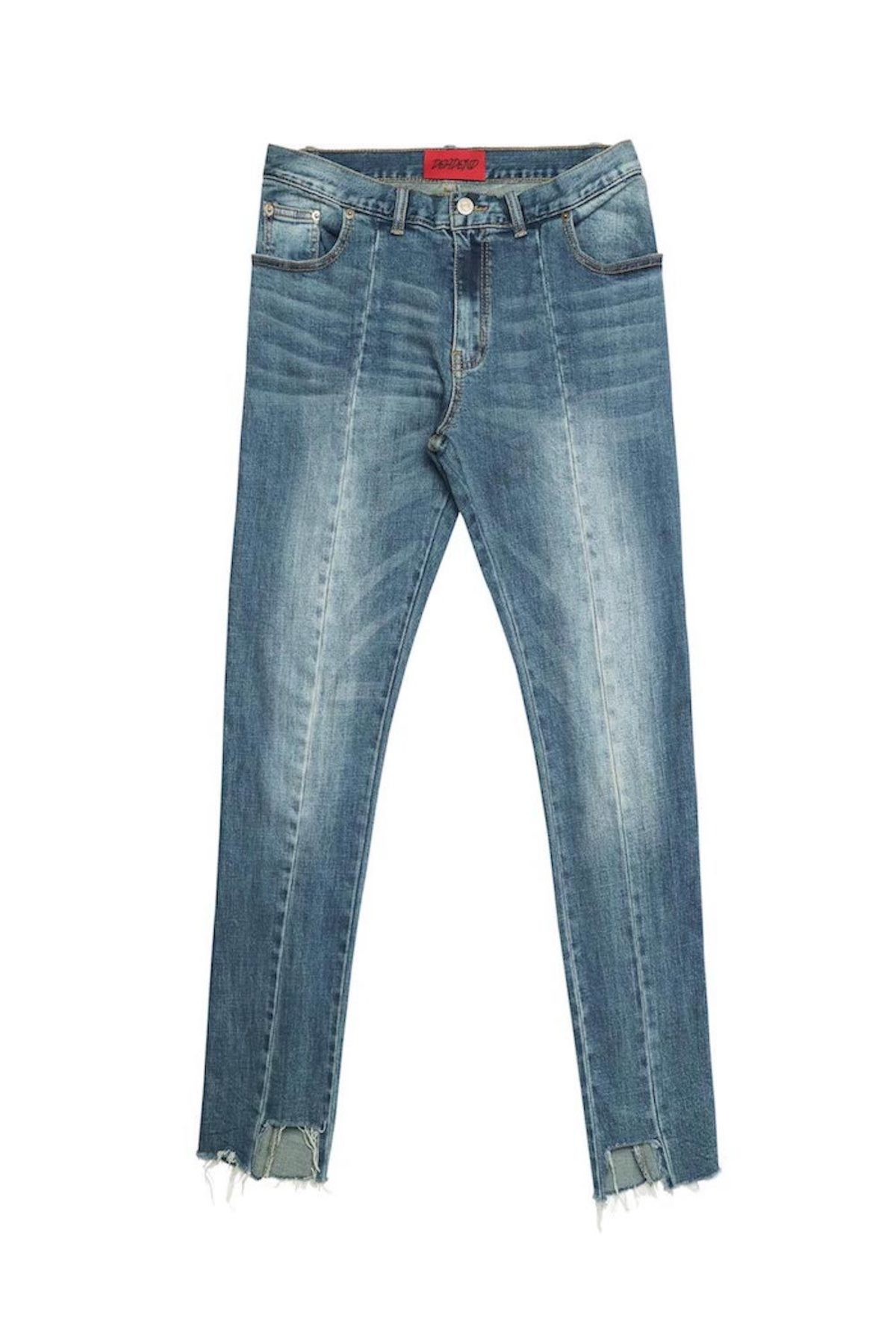 IMBALANCE CROPPED JEANS