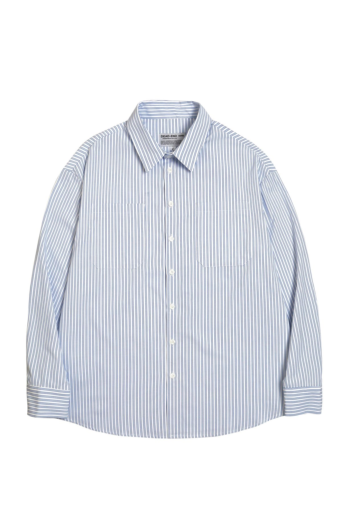 WHITE STRIPE QUOTE SHIRTS