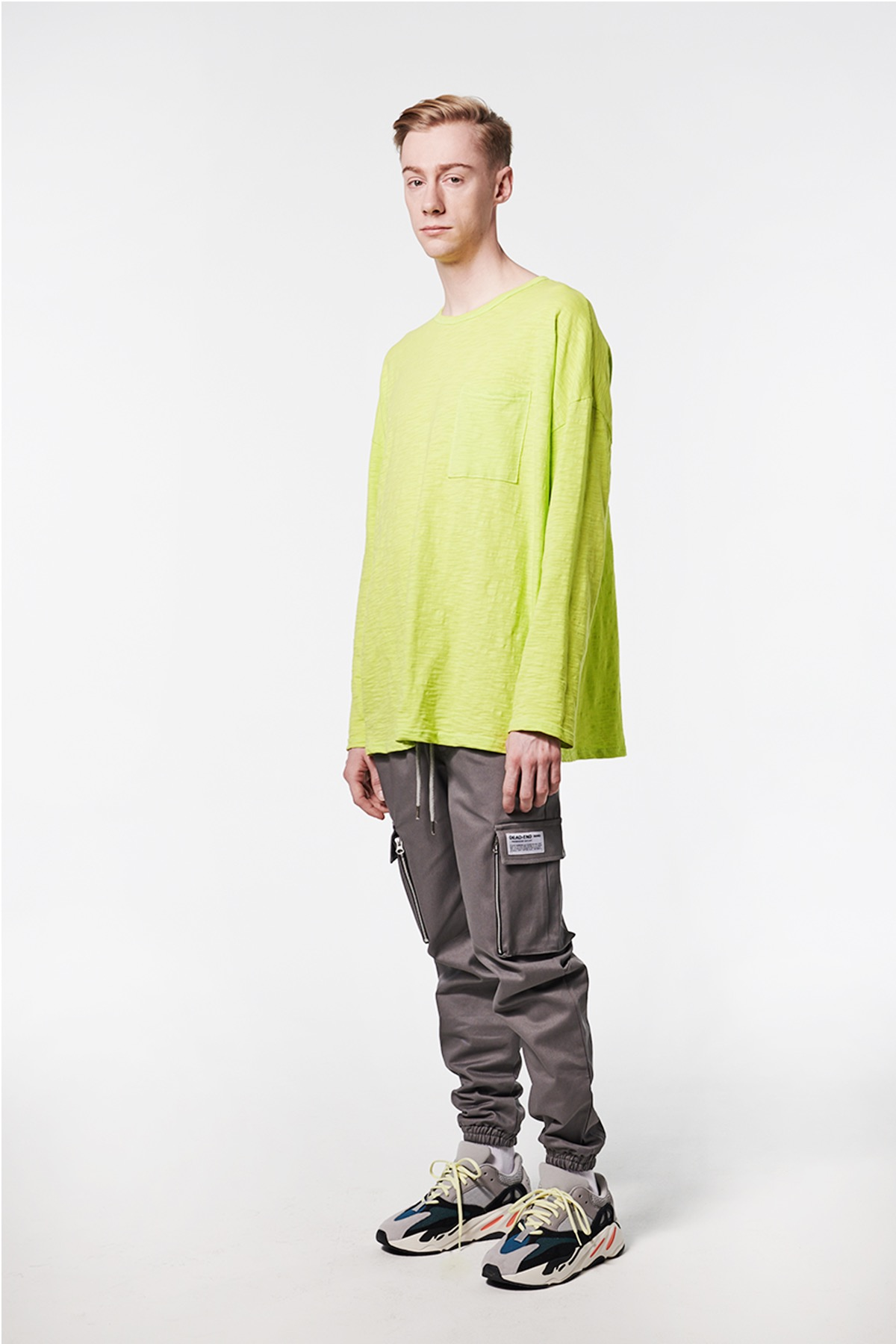 NEON POCKET LONG SLV