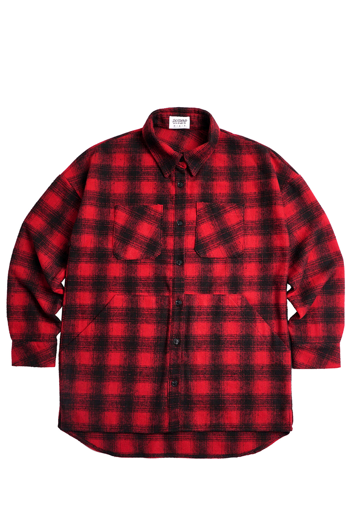 RED FLANNEL POCKET SHIRTS