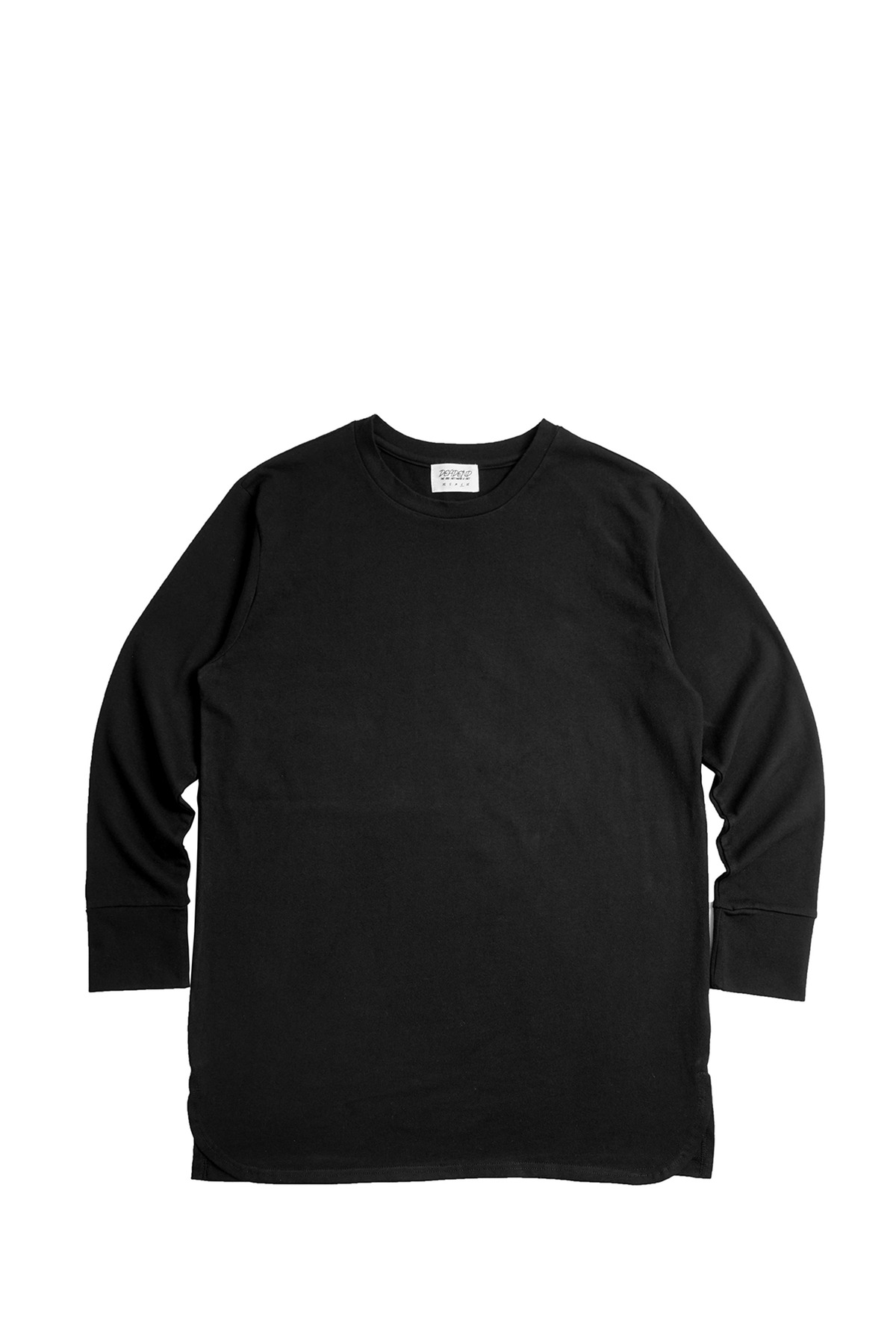 BLACK SET IN RAGLAN SLEEVE