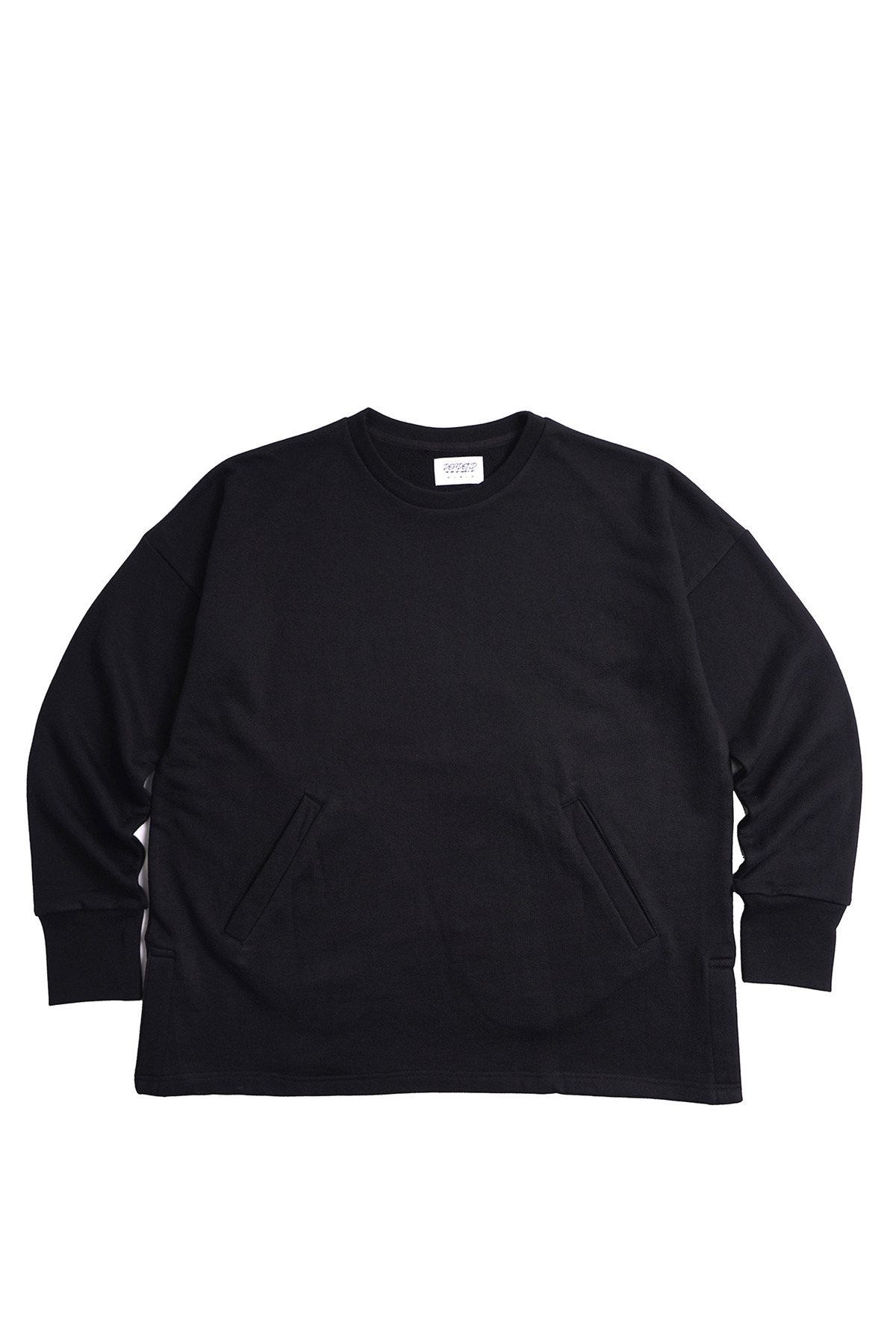 BLACK SET IN RAGLAN SWEAT SHIRTS