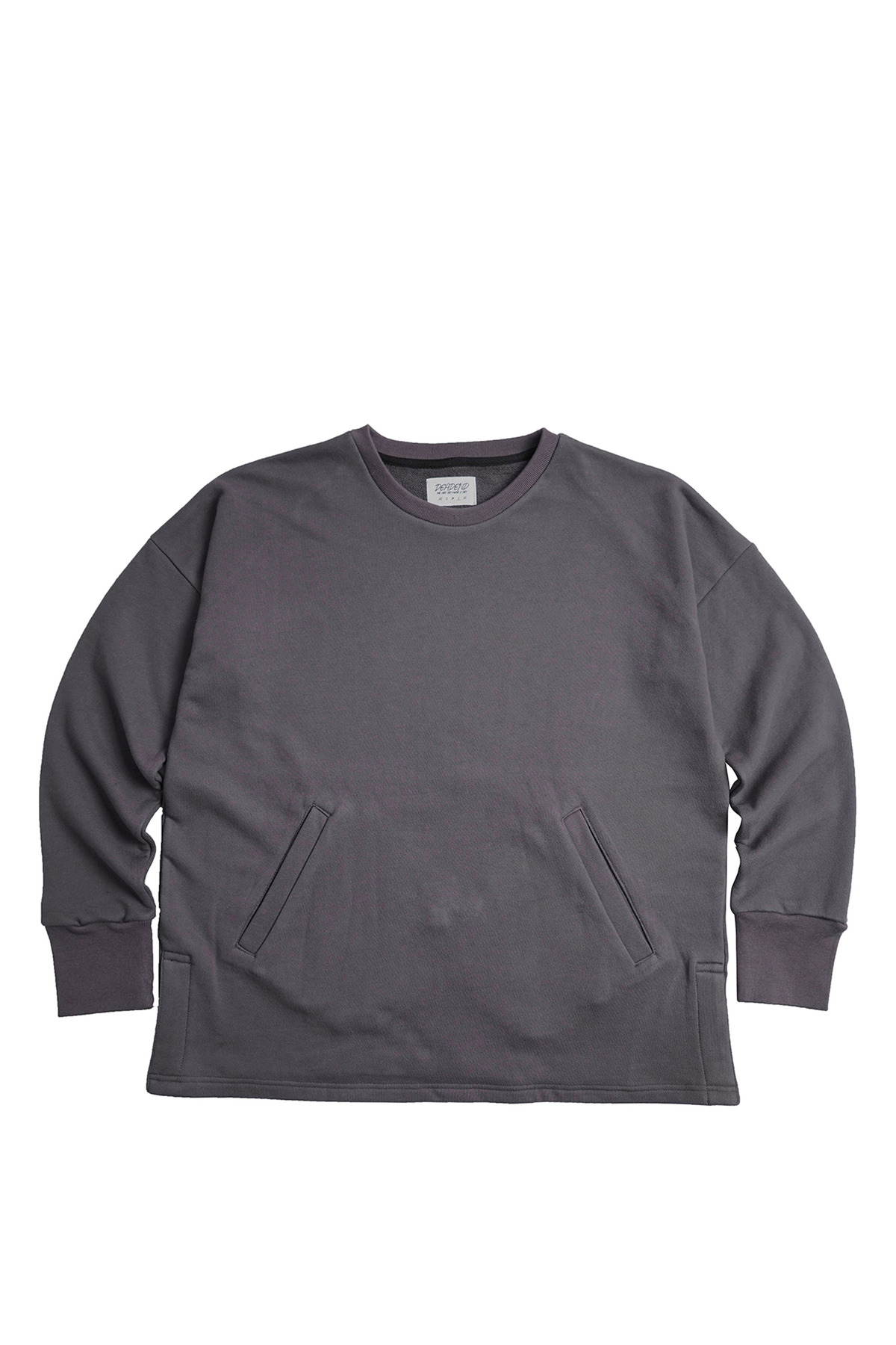 CHARCOAL SET IN RAGLAN SWEAT SHIRTS