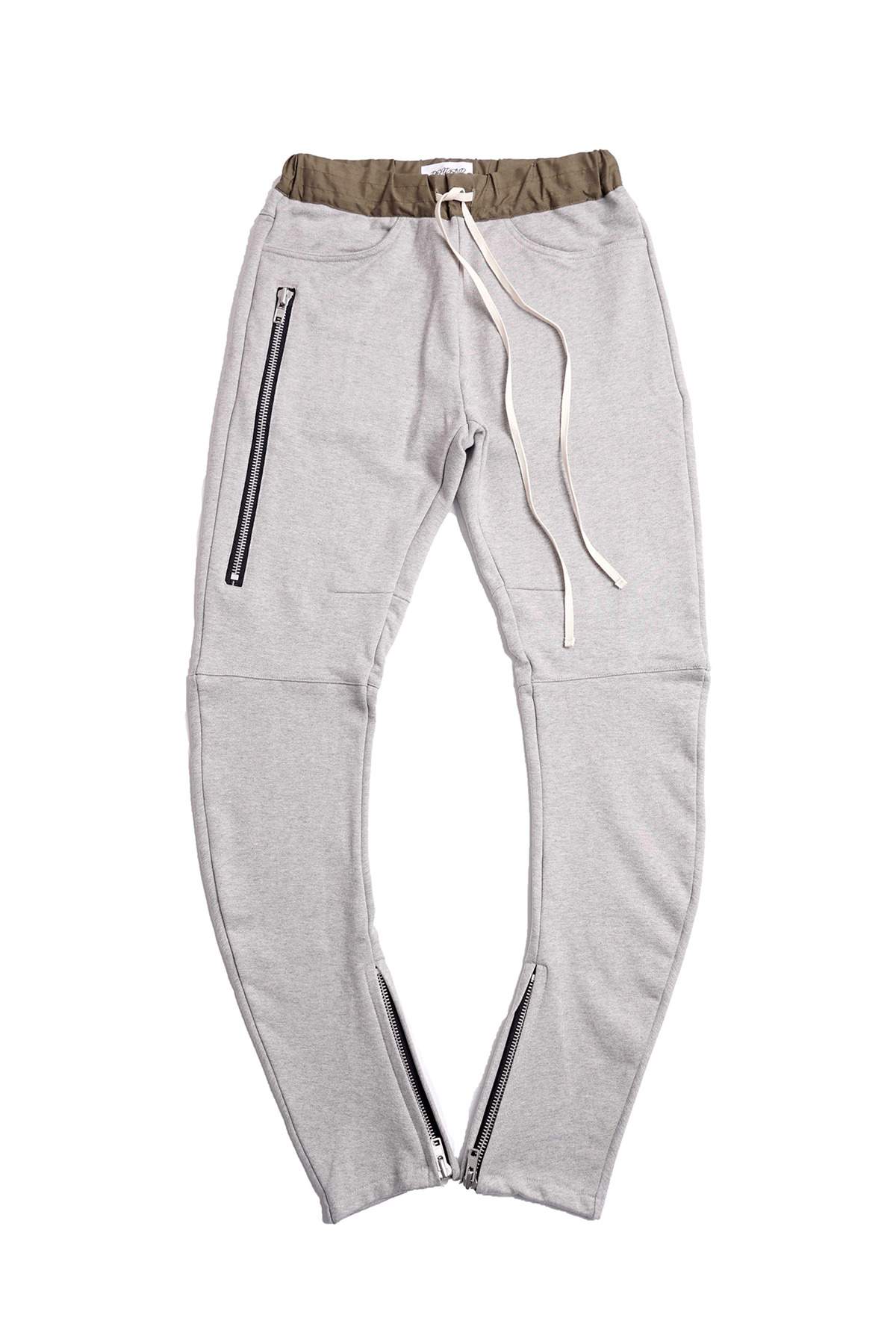 GREY J- DRAWSTRING PANTS