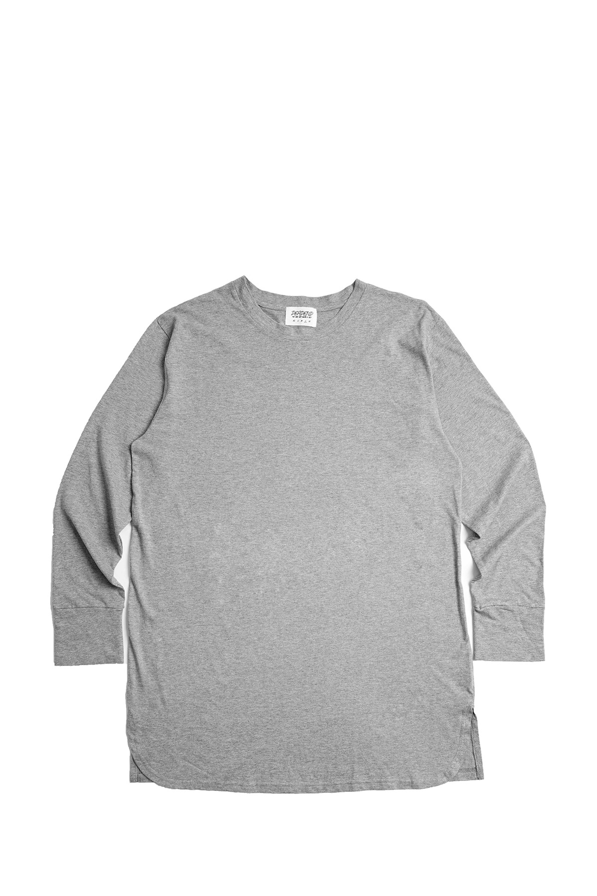 GREY SET IN RAGLAN SLEEVE