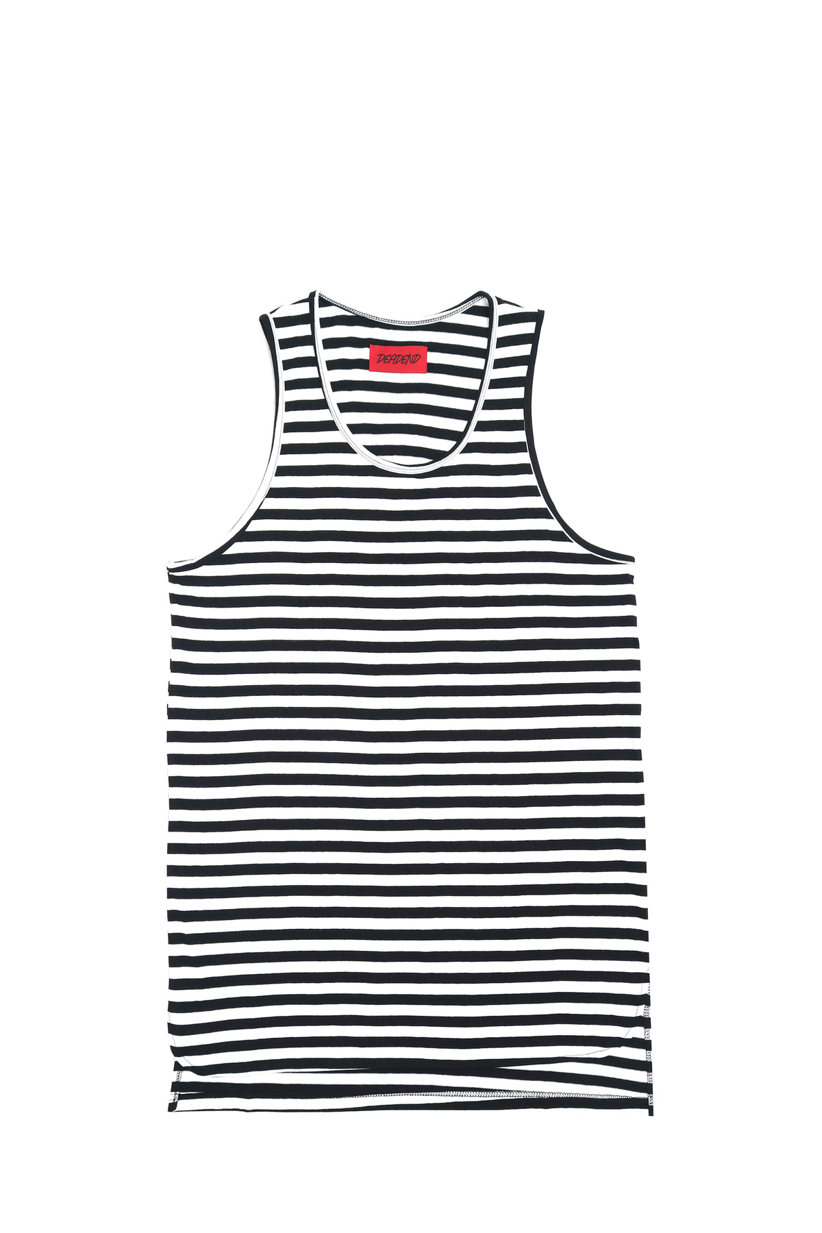 STRIPE LAYERED SLEEVELESS