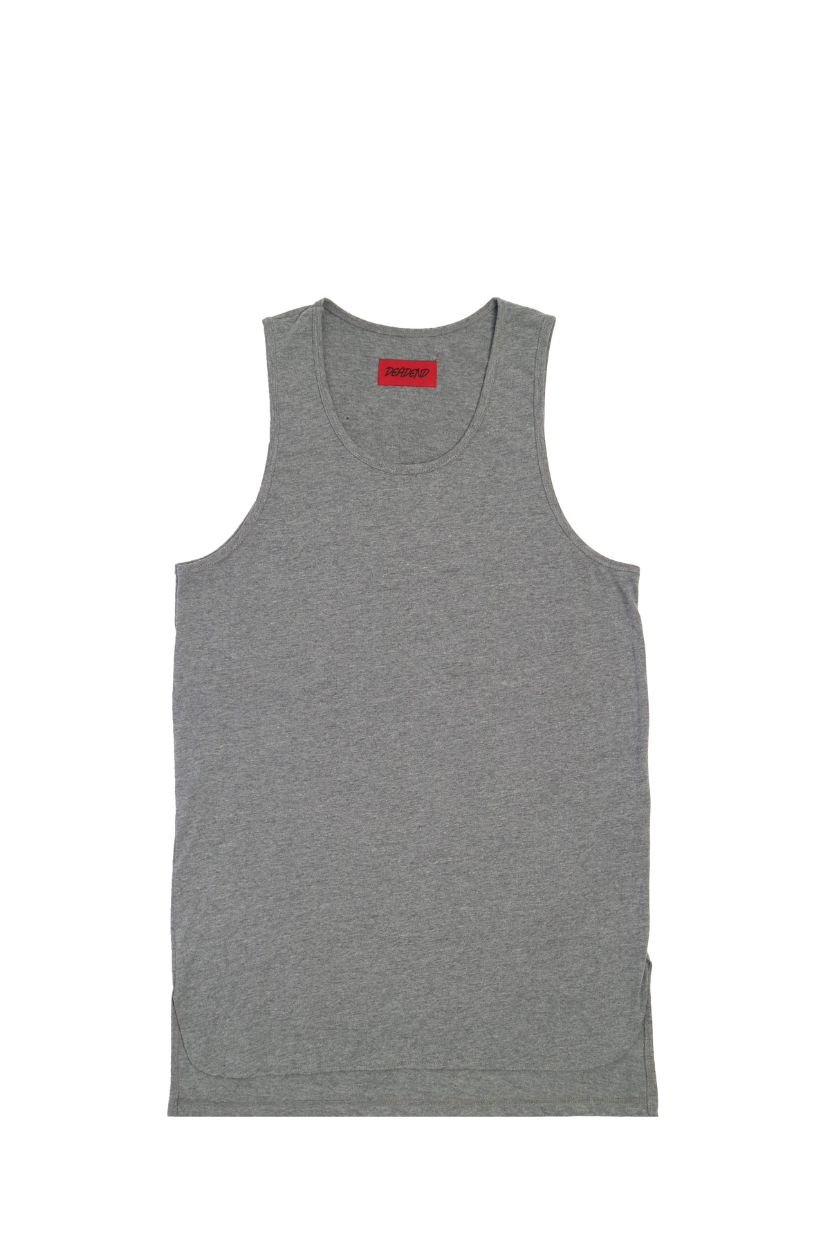 GREY LAYERED SLEEVELESS