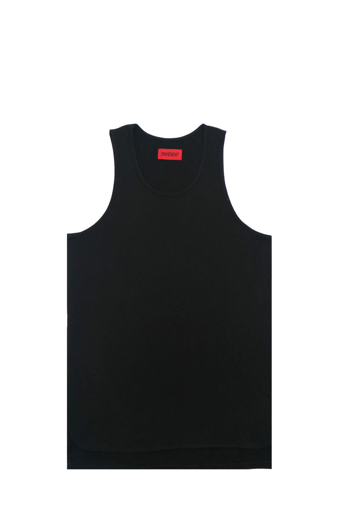 BLACK LAYERED SLEEVELESS