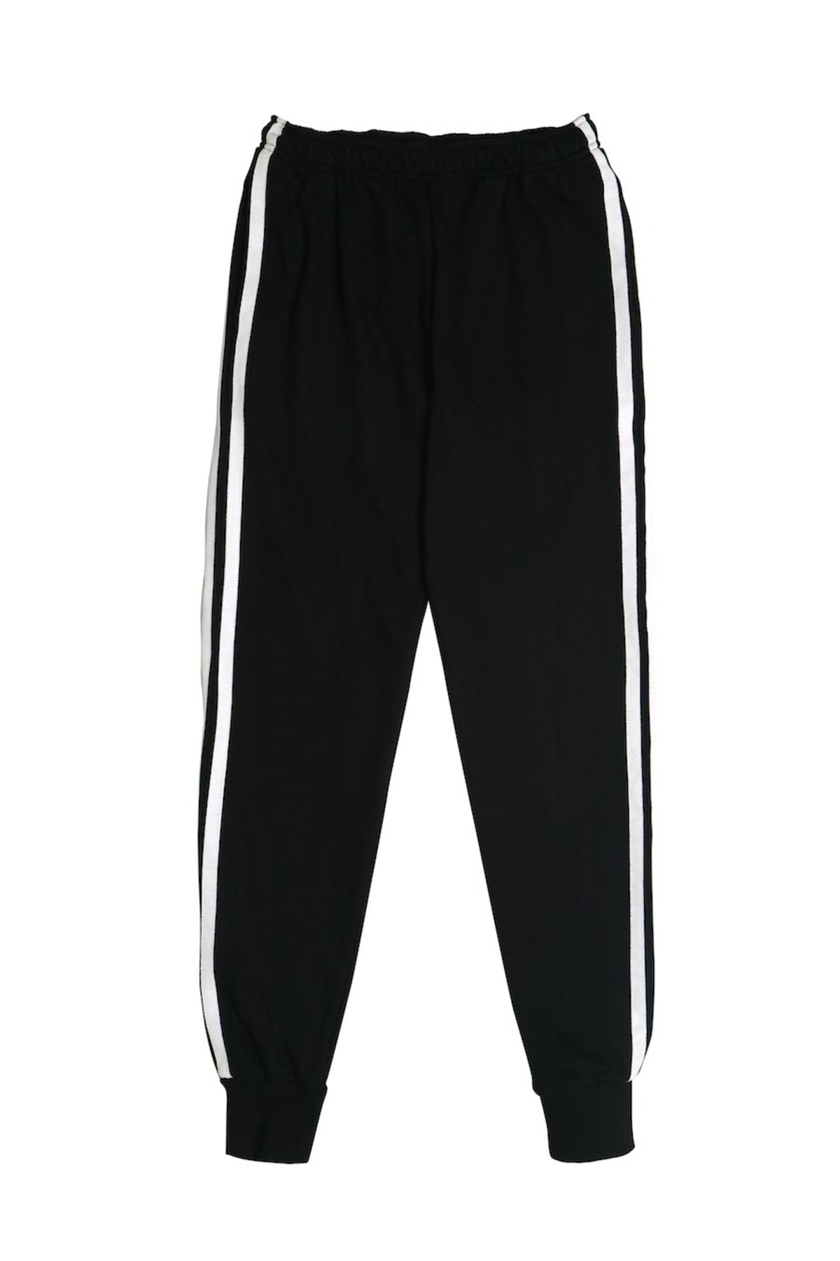 BLACK WHITE JOG PANTS