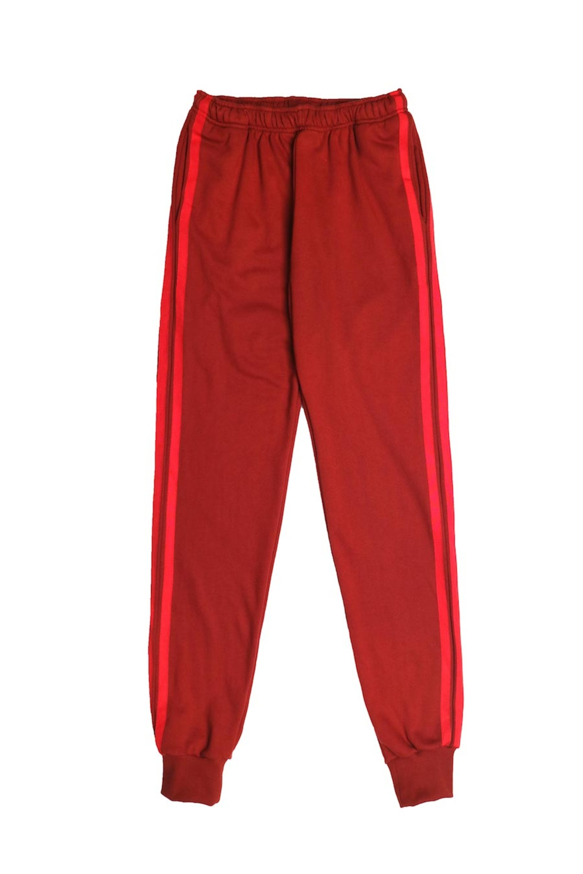 BURGUNDY RED JOG PANTS