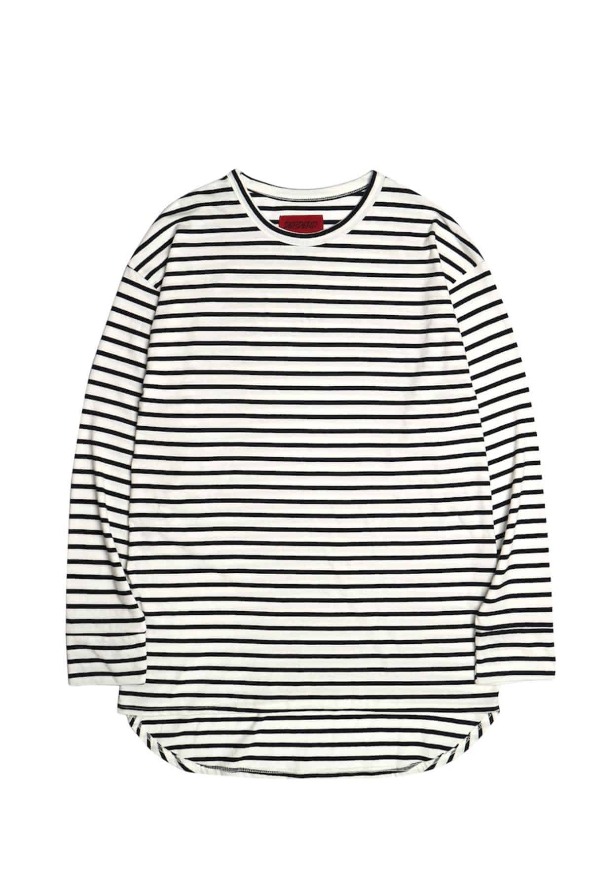 WHITE STRIPE IMBALANCE LONG SLV