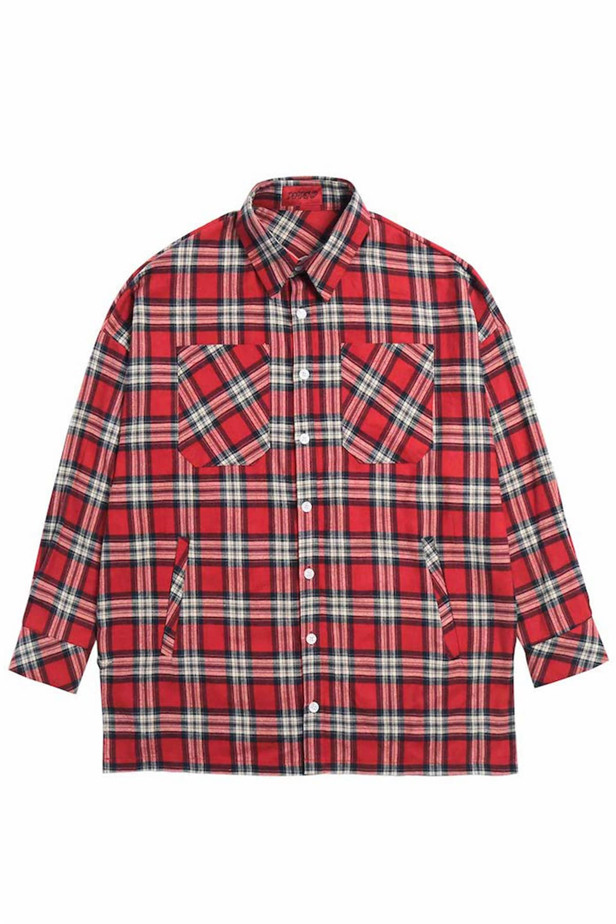 RED FLANNEL POCKET SHIRTS V2