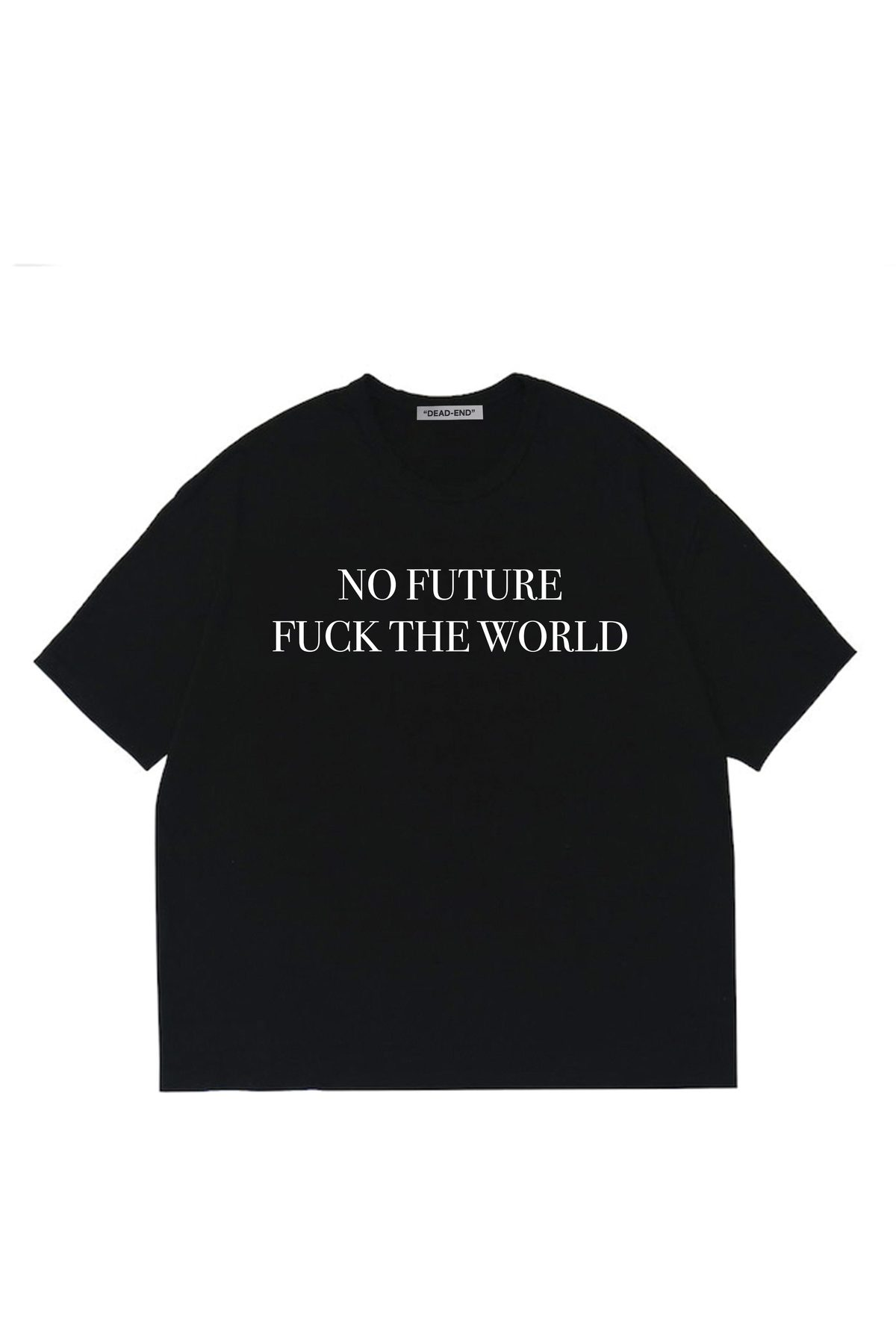 BLACK NO FUTURE T-SHIRTS