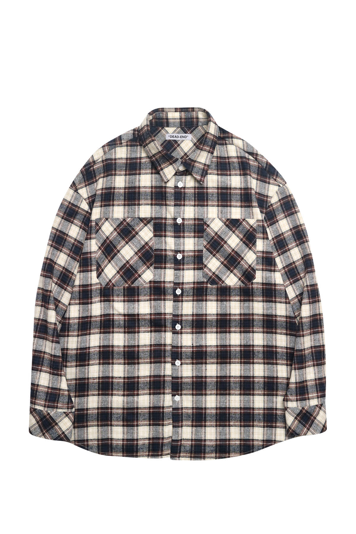 BROWN FLANNEL SHIRTS