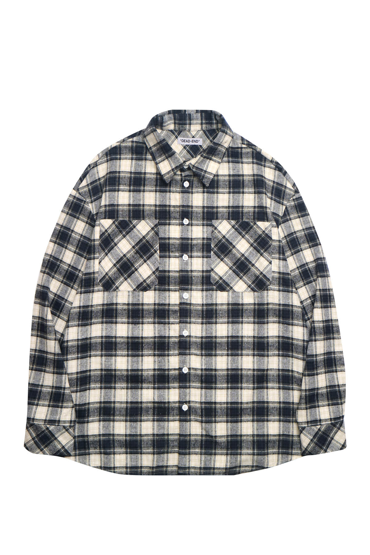 NAVY FLANNEL SHIRTS